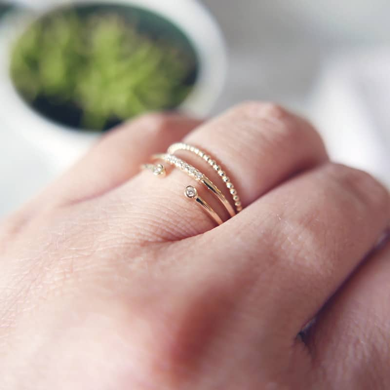 Mejuri Fine Jewelry Wedding Rings HelloNance.com Baby Beauty Travel Lifestyle Vancouver Blog