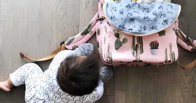 What's In My Diaper Bag   Super Cute Cactus Backpack