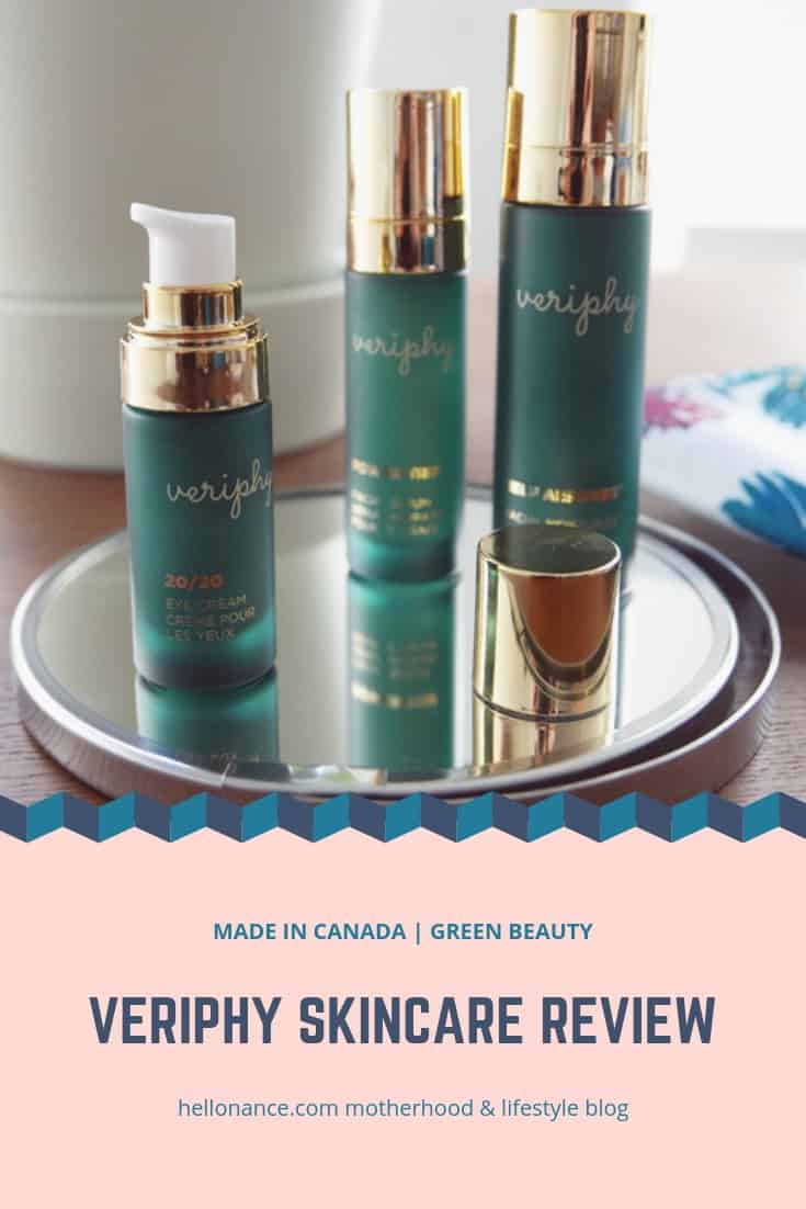 VERIPHY SKINCARE REVIEW  | GREEN BEAUTY