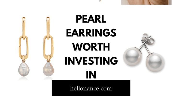 8 PEARL EARRINGS WORTH INVESTING IN