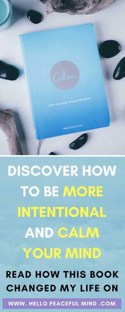 Are you looking for a book to learn more about mindfulness and intentional living? This book is going to inspire you to change your life. Check out why on www.HelloPeacefulMind.com