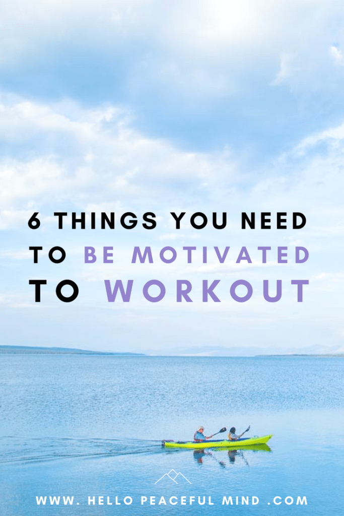 discover how to find the motivation to workout and go to the gym on www.HelloPeacefulMind.com