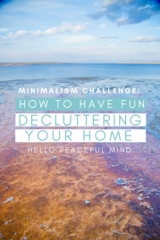 Minimalism Challenge: How to have Fun Decluttering your Home