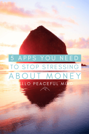 The 5 Apps you Need to Stop Stressing About Money