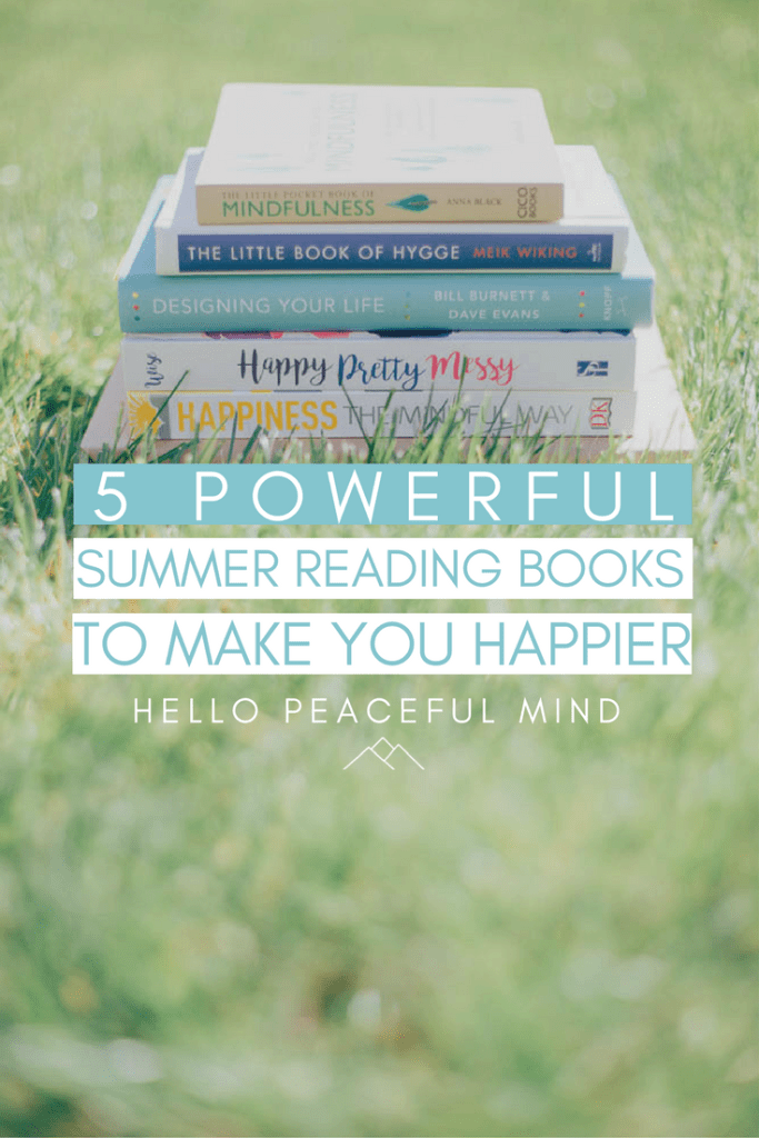These books are going to show you how to become happier. They are the perfect readings for sunny days! Check them out on www.HelloPeacefulMind.com