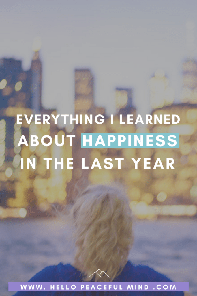 Find out every thing you need to know about happiness and how to improve your life on www.HelloPeacefulMind.com
