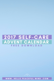 Get The Best Self-Care Advent Calendar For FREE