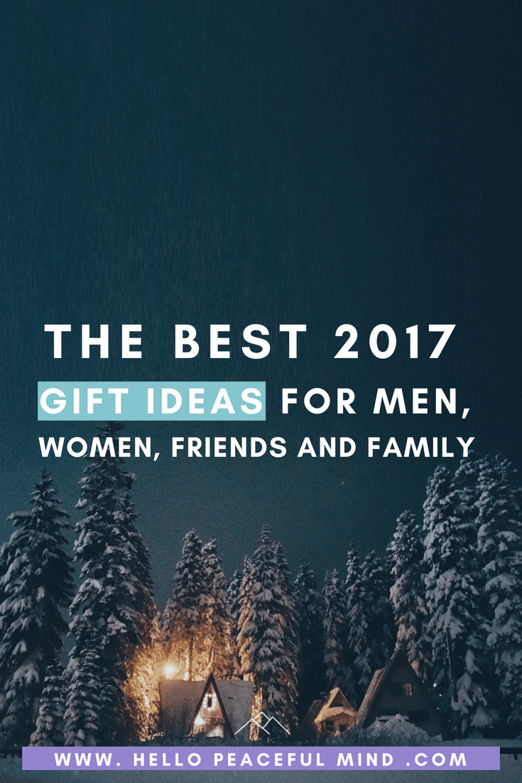 Find gift ideas for men, women, adults, friends, stockings, white elephant, secret Santa and more on www.HelloPeacefulMind.com