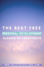 The Best FREE Personal Development Classes On CreativeLive