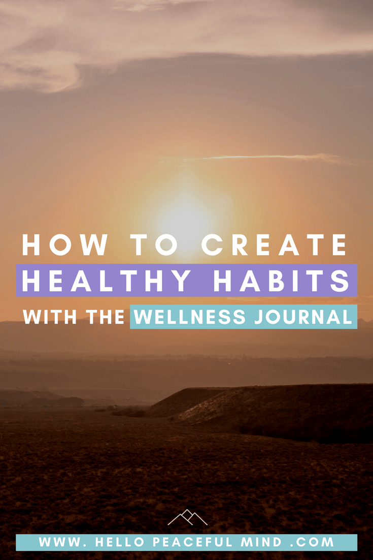 Discover how the Dailygreatness health and wellness journal helped me create life changing habits on www.HelloPeacefulMind.com