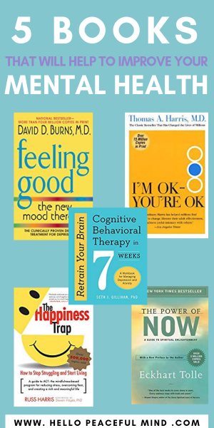 5 Books That Will Help To Improve Your Mental Health