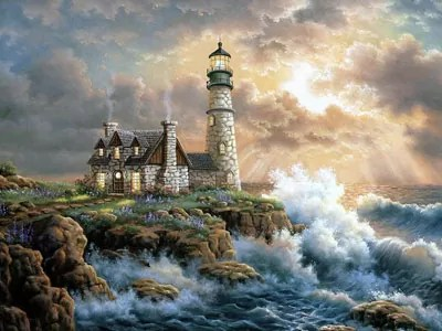 Diamond Painting Light House