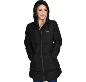 Beinia Valuker Women's Seamless Hooded Down Coat