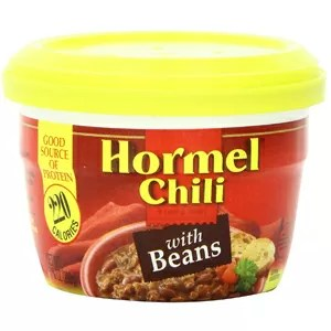Hormel Micro Cup Chili with Beans