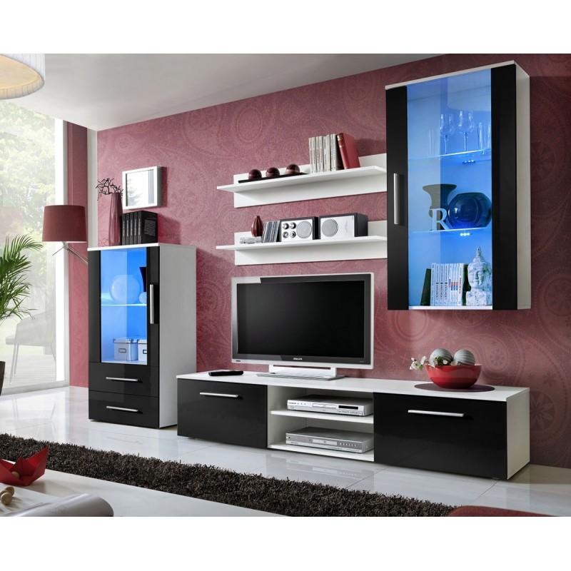 ensemble meuble tv design galino viii