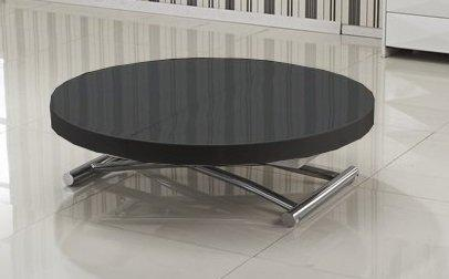table basse ronde relevable et