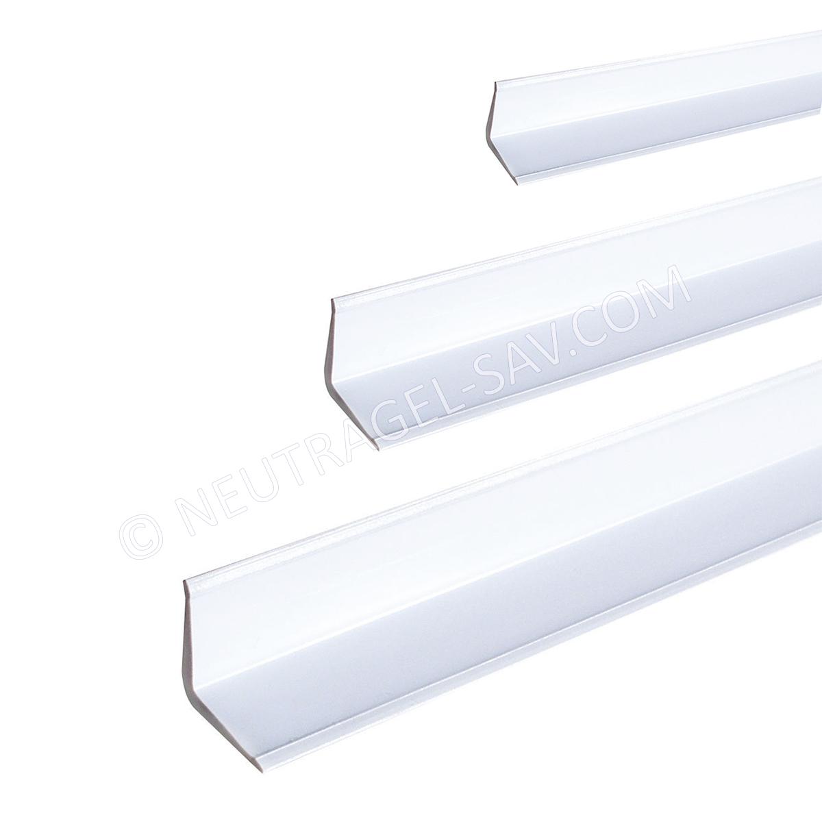 Profile Corniere D Habillage Et De Protection En Pvc Blanc Cote 100x60x2 5 Mm