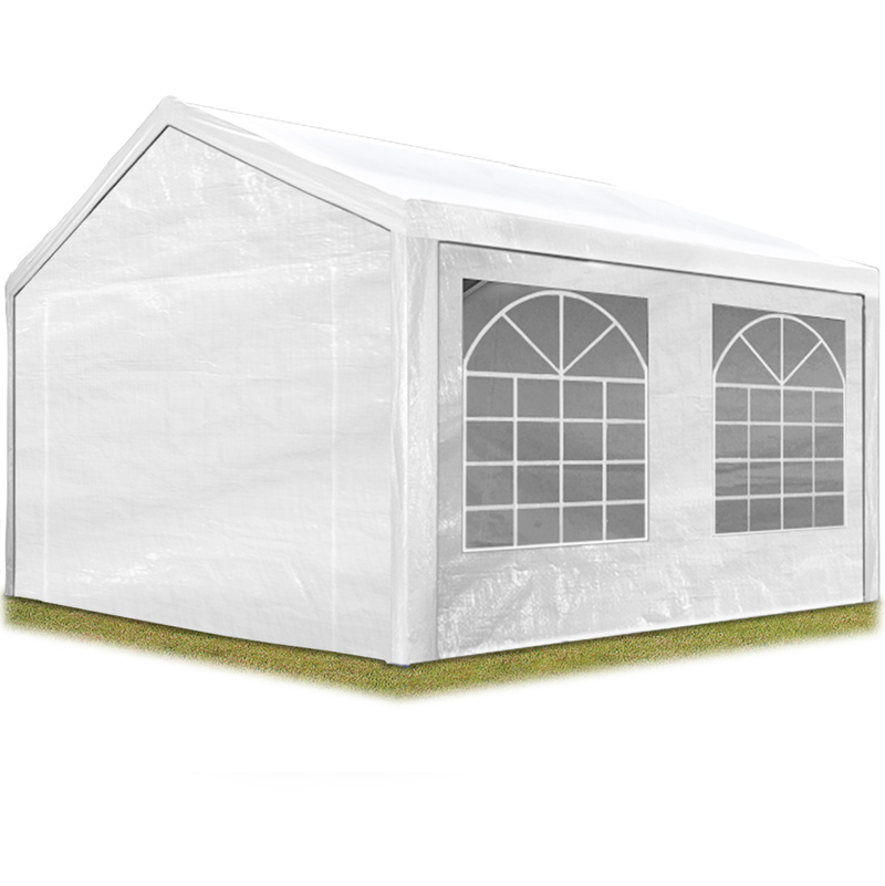 tente de reception 3x4 m pavillon blanc bache pe epaisse d env 180g m impermeable tente de jardin