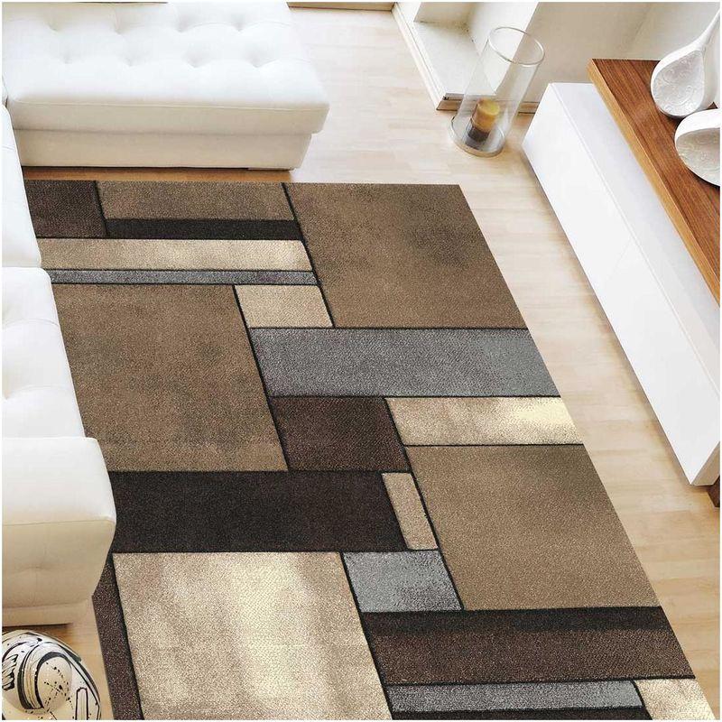 un amour de tapis grand tapis salon et salle a manger tapis salon moderne design geometrique poils ras tapis chambre turquoise tapis beige