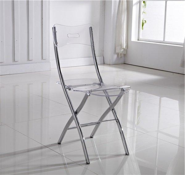 lot de 2 chaises pliantes widow en