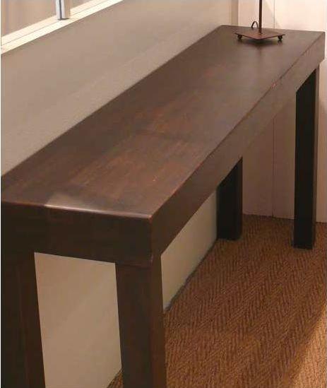 table console en fer forge
