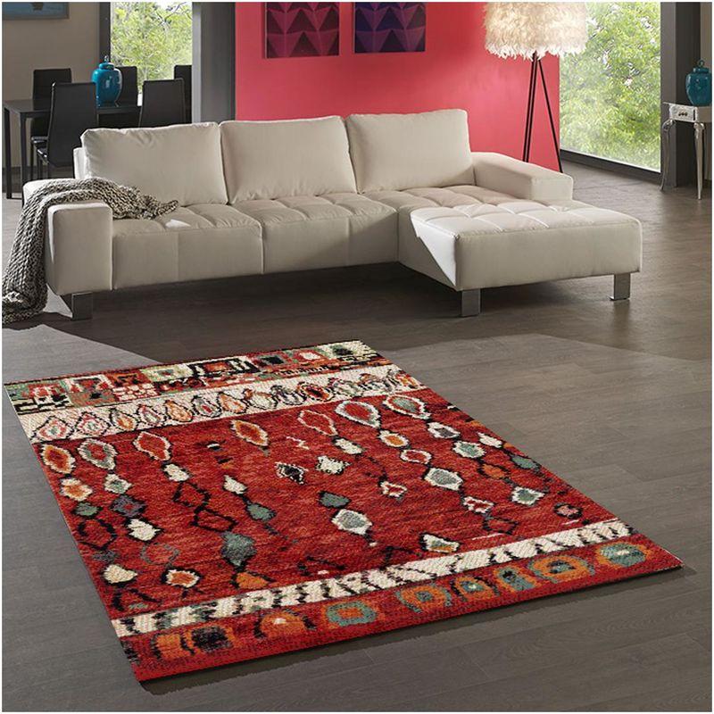un amour de tapis petit tapis d entree interieur tapis salon moderne design scandinave tapis berbere ethnique poils ras turquoise tapis entree