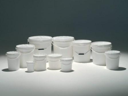 Seau En Plastique Alimentaire Et Homologue Onu