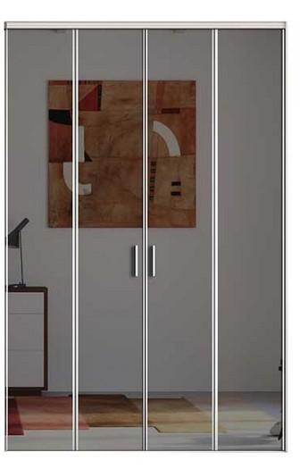 Porte De Placard Pliante Kazed Miroir Plomb Comparer Les Prix De Porte De Placard Pliante Kazed Miroir Plomb Sur Hellopro Fr