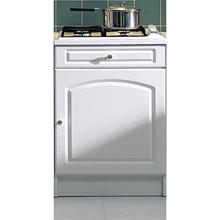 pour plaque de cuisson larg 60 cm blanc