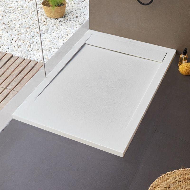 receveur de douche new york 120 x 90 cm blanc
