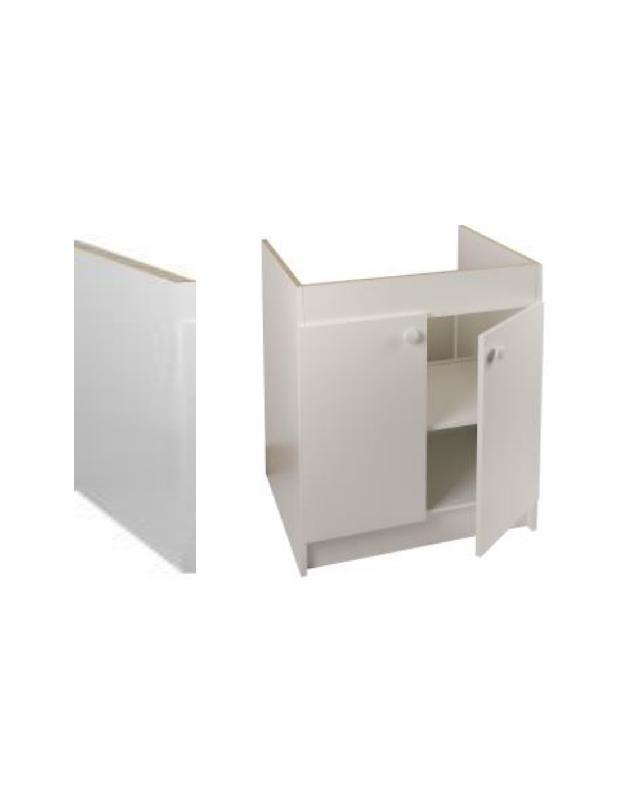 franke kitchenette 100 cm eco 400 meuble sous evier vendu sans electromenager franke 609782