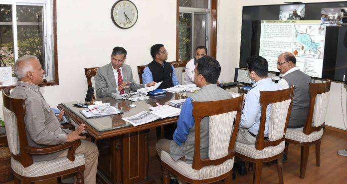 Salt train, Sambhar lake, Chief Secretary, Niranjan Arya,