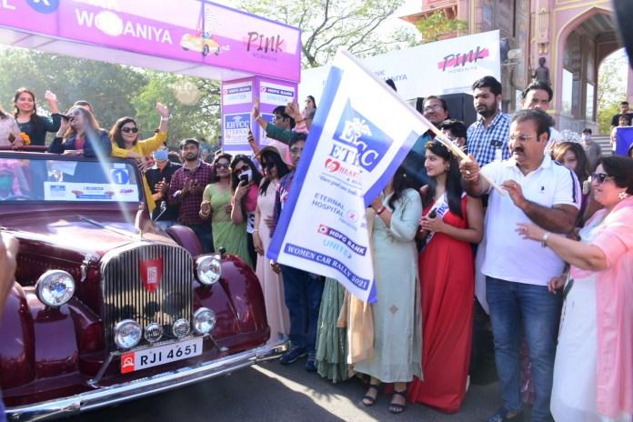 Pratap Singh Khachariyavas , Womens Car rally , International Women's Day , Women's Day,
