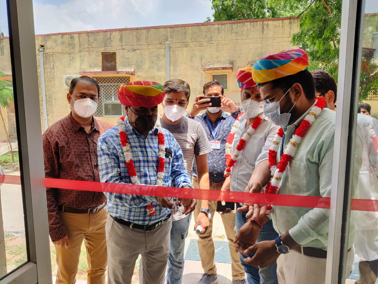 Kovid Care Center, Kelwara CHC, Wish foundation, Health Department, CoronaVirus, Rajasthan Corona News, Udaipur News, Health News, Covid Care Center Rajasthan,