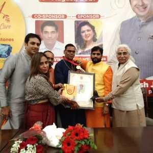 horoscope analyst, Jyotish Shiromani award, Anish Vyas, Gold Medal, 3rd International Astrological Conference , Astrological Conference , Astrological Conference  delhi, horoscope,