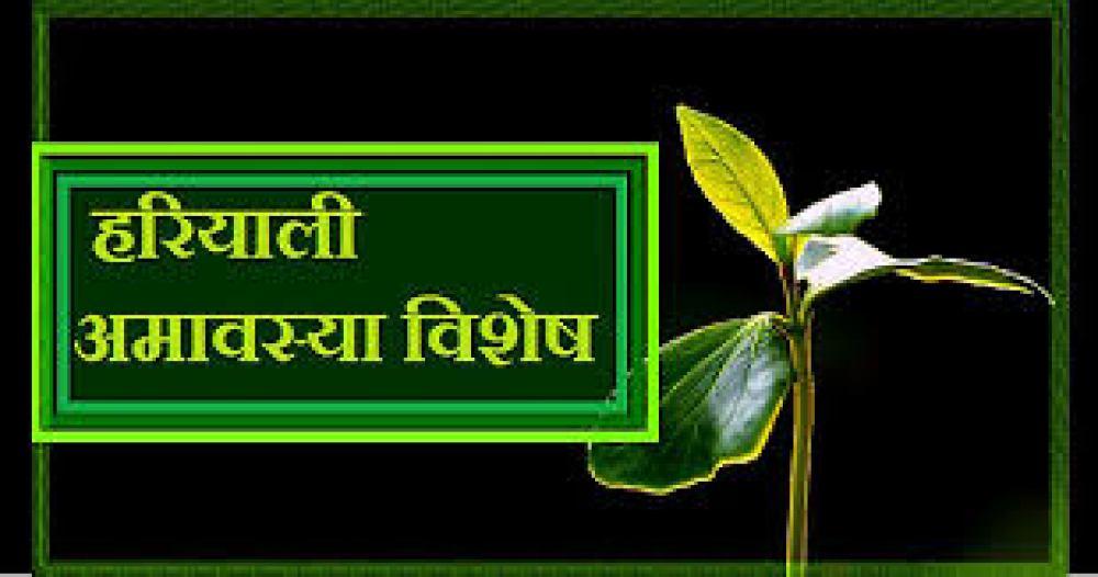 Hariyali Amavasya, Hariyali Amavasya 2021, Hariyali Amavasya on August 8, Hariyali Amavasya will be celebrated in Sarvarth Siddhi Yog, Hariyali Amavasya will be celebrated in Ravipushya Nakshatra, हरियाली अमावस्या,