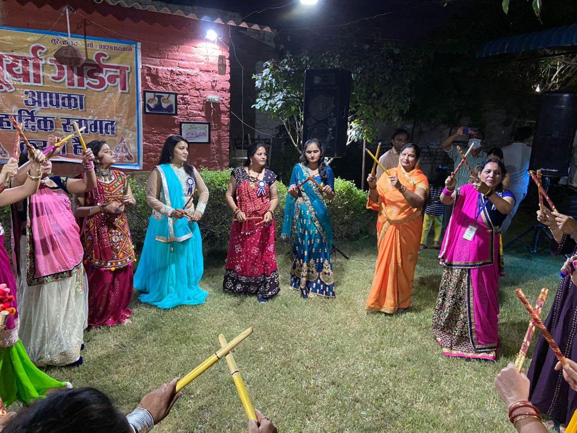 dandia , Bikaner, Surya Garden, Navratra , Garba,