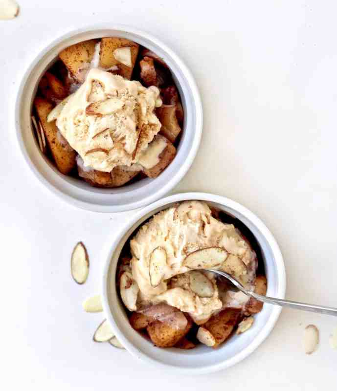 Healthy Sauteed Apples - Vegan and Gluten Free