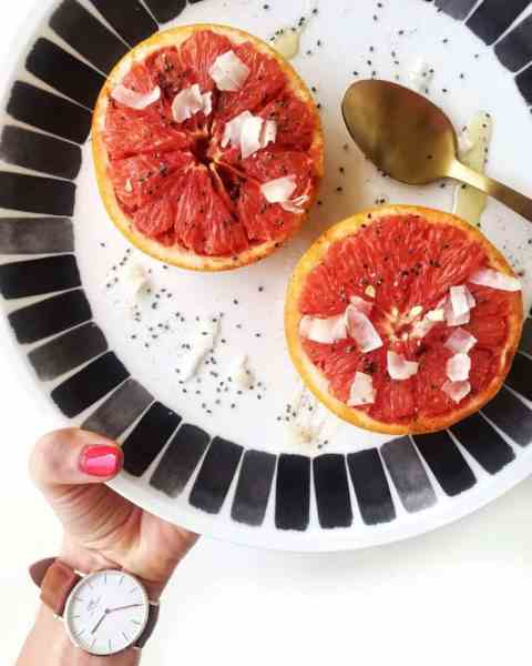 Broiled Grapefruit Recipe How To and Health Benefits