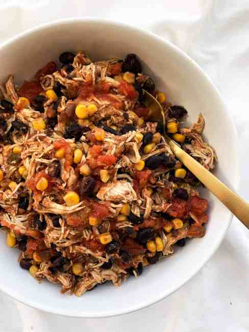 Crockpot Tex Mex Chicken