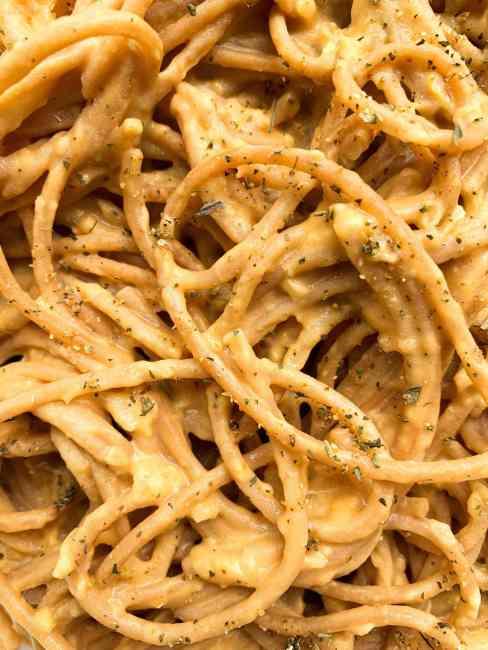Vegan Sweet Potato Pasta Sauce