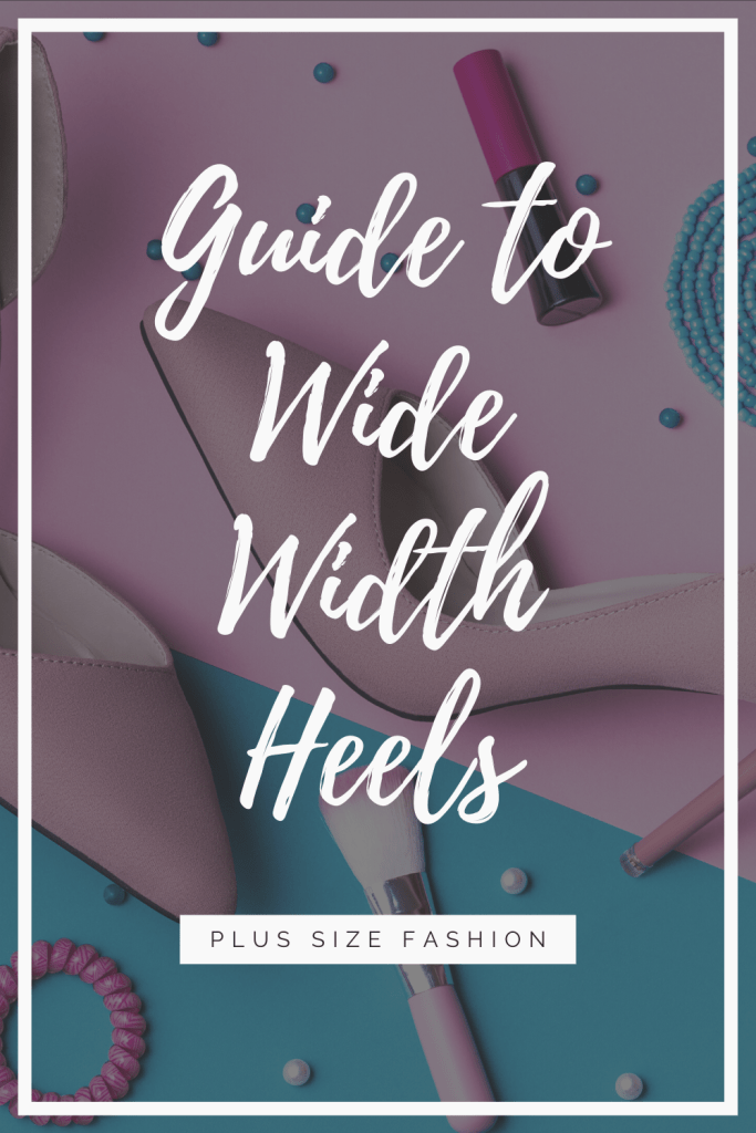 I tend to be more of flats girl myself, but some days you just want to go tall and that's where a pair of wide width heels come in. Whether you're like me and you need something shorter or you want to go tall, there is something for you.