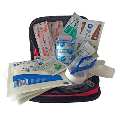 Primacare KB-7411 Red Nylon Personal First Aid Kit