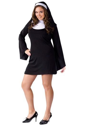 plus size naughty nun