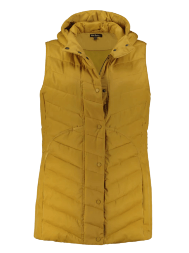 Quilted Fully-lined Vest by Ulla Popken | 12-34