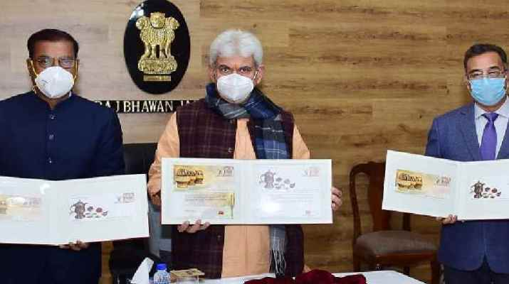 Jammu & Kashmir: Lt Governor released Special Covers on themes- Kangri & Kehwa by Department of Posts, GoI 1
