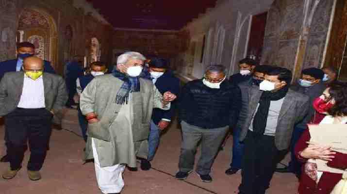 Jammu & Kashmir: LG calls for Comprehensive Master Plan for Conservation and Restoration of Cultural Heritage 1