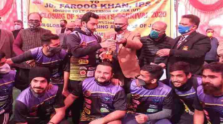 J&K: Advisor Farooq Khan stressed to adopt sports culture for healthy & disciplined life, Announced multipurpose Indoor Stadium at Jagti Township 1
