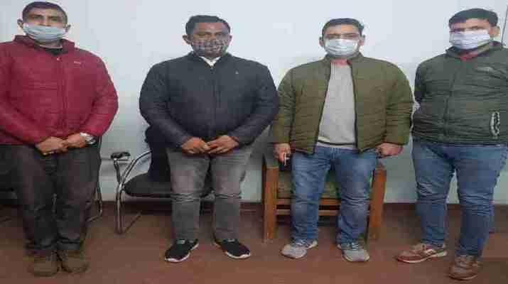 खनन विभाग के सरकारी पोर्टल पर ऑनलाईन फर्जी रॉयल्टी की कूटरचना कर अवैध खनन का व्यापार करने पर 01 अभियुक्त गिरफ्तार, STF एवं साईबर क्राईम की संयुक्त कार्यवाही 1