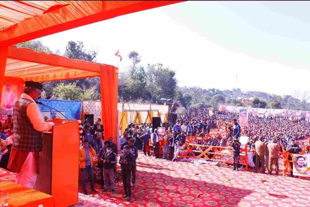 स्वर्गीय जीनान की गणना हमेशा सक्रिय रहने वाले विधायकों में होगी, उन्हे गरीबों का मसीहा भी कहा जाता था - मुख्यमंत्री त्रिवेन्द्र सिंह रावत 3